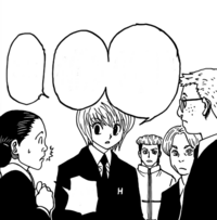 Chap 386 - Ladiolus and Kurapika