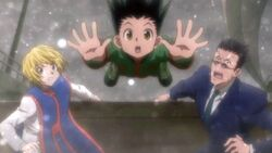 Gon-jumping-out-of-the-boat