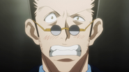 Leorio embarrased