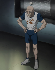 Netero in his sportswear