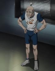 Netero in his sportswear