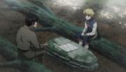 Mizuken habla con Kurapika
