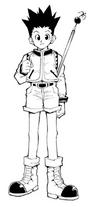 Gon Freecss Manga Classic