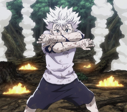100 - Killua injured