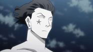 Hisoka disappointed