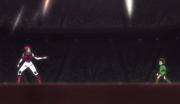 Hisoka adivina el aura de Gon