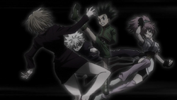 Gon & Killua Attempting To Escape