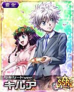 Killua and Alluka-Wedding ver