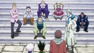 Gon Killua meet other GI players
