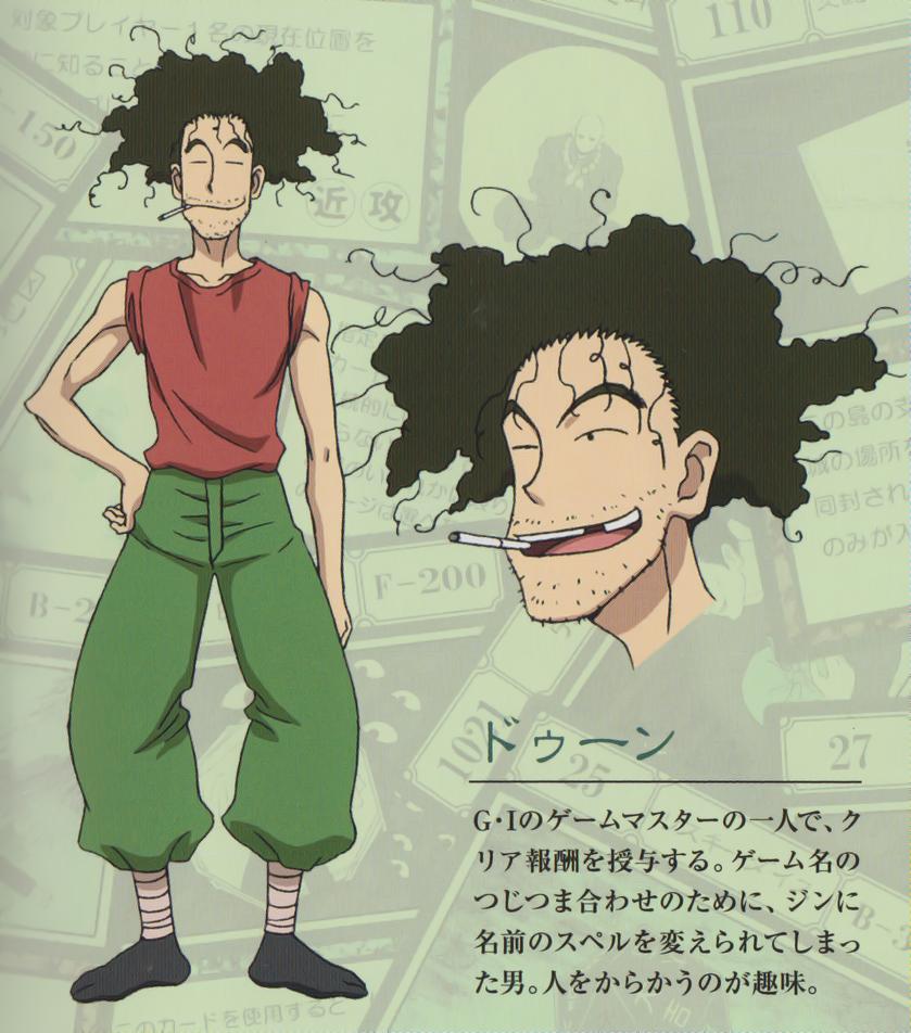 Dwun G.I Design (2011 Anime)