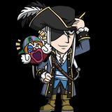 Kite - Pirate ver chibi