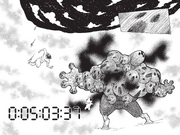 Chap 280 - Knuckle rushing toward Youpi as he swells with rage
