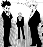 Chap 120 - Gon and Killua attend auction