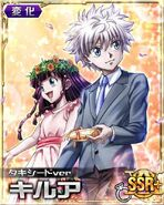 Killua - Wedding ver Card+