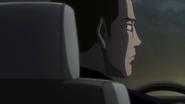 Hishita in car