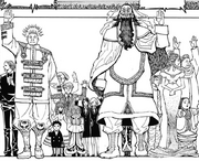 Chap 358 - Beyond and the princes of Kakin