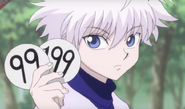 Killua umori's badge