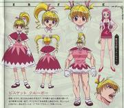 Bisky G.I Design (2011 Anime)