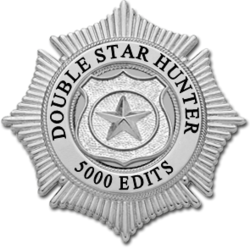 5000 edits on article Badge