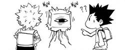 Unnamed One-Eyed monster Manga