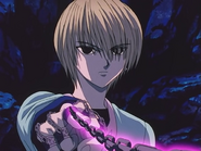 Kurapika using chain jail 3