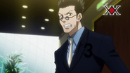 Leorio ranked at 3 in voting