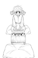 Chap 261 - Komugi longing to play Gungi