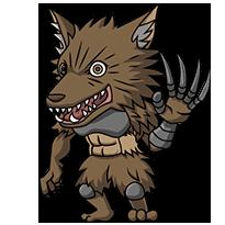 Wolf Pack Chibi