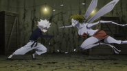 82 - Killua attacks Mosquito 1