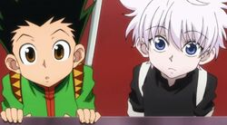 Killua and gon 1