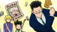 Leorio Regrets Not Taking Picture