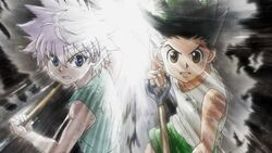 Gon and Killua ep 63