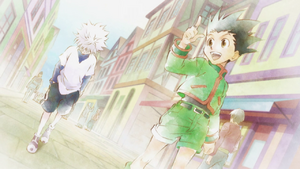 Gon and Killua - Ep 61