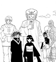 Chap 224 - Several Troupe members ready to defend Meteor City
