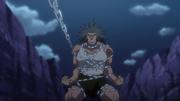 Uvogin atrapado por las cadenas
