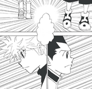 Chap 338 - Gon and Killua going their separate ways