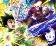 HxH Battle Collection Card (619)