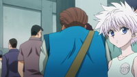 Tonpa Avoiding Killua