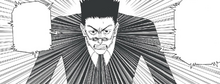 Chap 332 - Leorio begging his fellow Hunters to help him save Gon