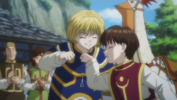 Kurapika & Pairo Movie1 IMG 2