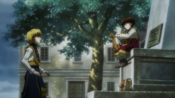Kurapika meets the Pairo doll