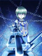 Kurapika portrayal 2 in Shironeko Project