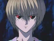 Kurapika about to fight