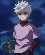 Killua appearance
