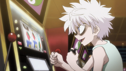 Killua gambling 66