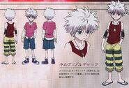 Killua Zoldyck Yorknew City arc design