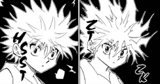 Chap 281 - Killua's electrical charge running out