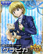 Kurapika - White Day Ver Card