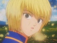 Kurapika calms down