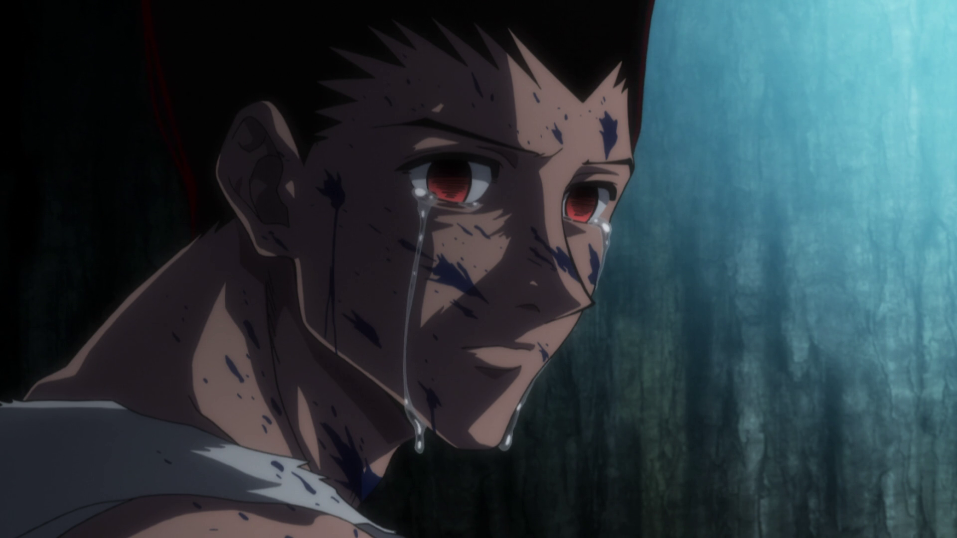 Anime Characters Crying : Image gon cries 131.png hunterpedia fandom powered by wikia